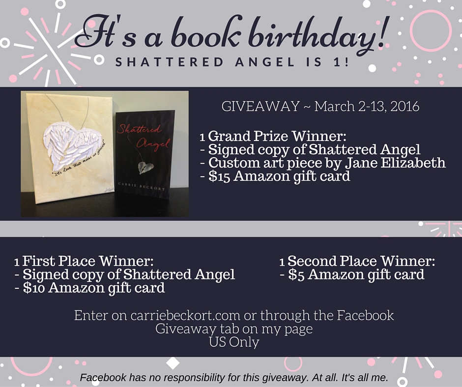Shattered Angel First Book Birthday